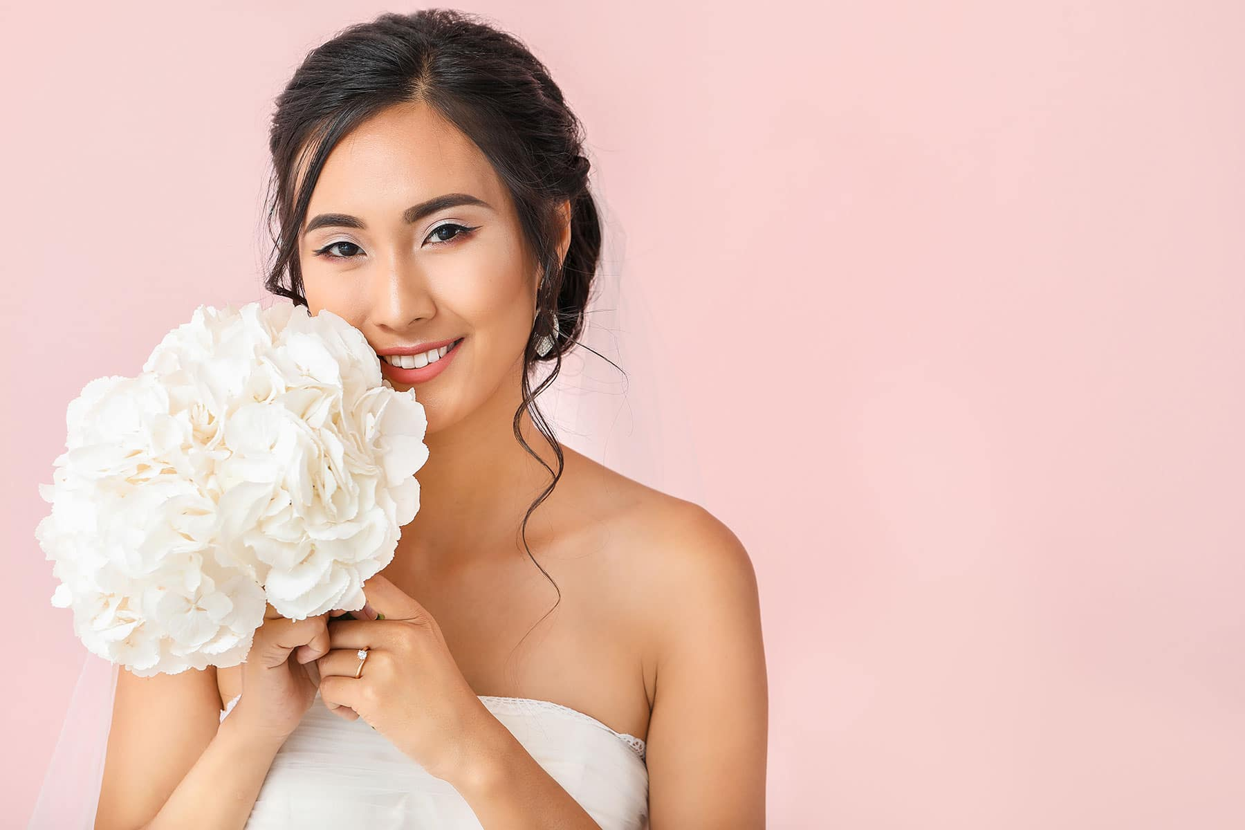 This section of the site is about bridal makeup services